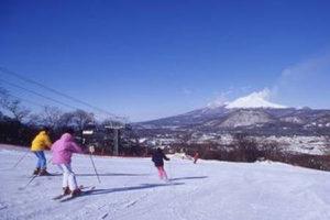 Asama mountain