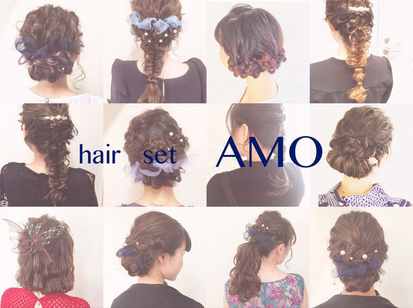 hair set AMO Karuizawa
